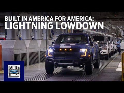 F-150 Lightning Lowdown: Built in America for America | Ford
