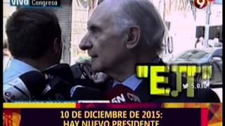 10 de Diciembre 2015 - Nuevo Presidente  - DDD