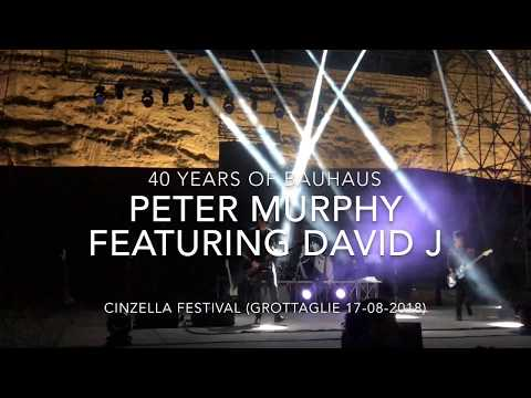 Peter Murphy - 40 years of Bauhaus - Live at Cinzella Festival (Grottaglie 17-08-2018) FULL HD Mp3