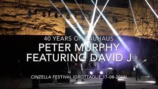 Peter Murphy - 40 years of Bauhaus - Live at Cinzella Festival (Grottaglie 17-08-2018) FULL HD