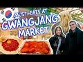 Gambar cover KOREAN STREET FOOD: Eating EVERYTHING at Gwangjang Market Seoul Traditional Korean Food Market광장시장