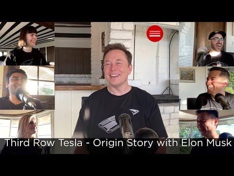 Third Row Tesla Podcast – Our Origin Story With Elon Musk