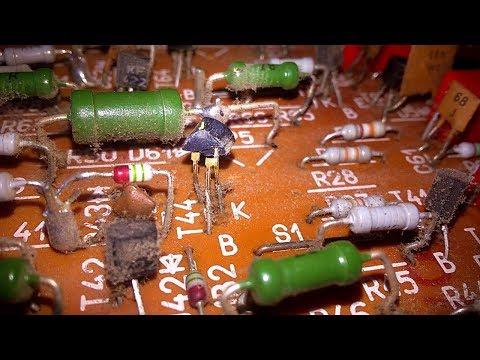 Plastic tranzistors (KC) -  Gold recovery