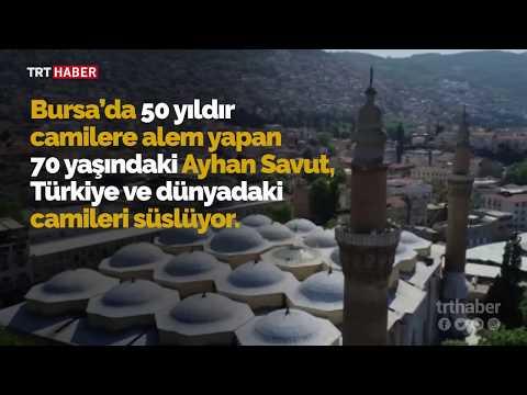 Alemler, 50 yıldır Ayhan Savut'un ellerinde şekilleniyor