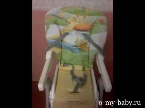 Видео-отзыв о стульчике для кормления Cam Mini Plus от Екатерины