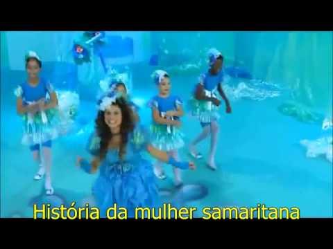 Aline Barros  Cia 3   Mulher Samaritana arc legendado