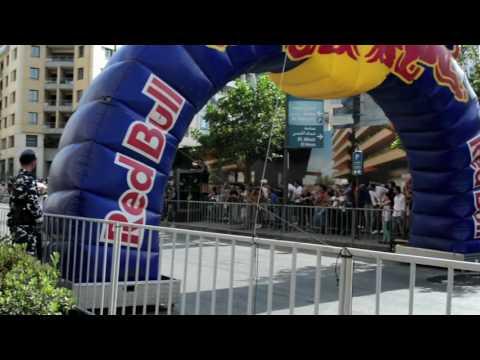 Beirut F1 RB7  - Red Bull Racing with Carlos Sainz and Abdo Feghali
