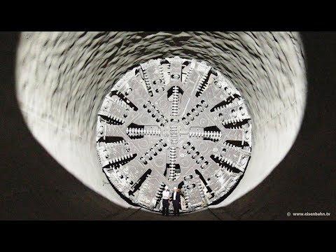 """Tunnelbohrmaschine """"Suse"""" erreicht den Stuttgarter Talkessel"""