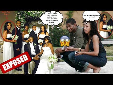 R&B SINGER USHER RAYMOND ALLEGEDLY GAVE WOMAN WHO WAS BRIDESMAID IN HIS WEDDING HERPES!! *EXCLUSIVE*