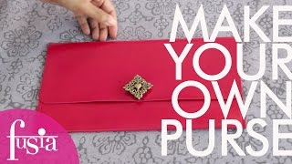 DIY PLACEMAT PURSE - EASY AND AFFORDABLE | SWEETSHARD
