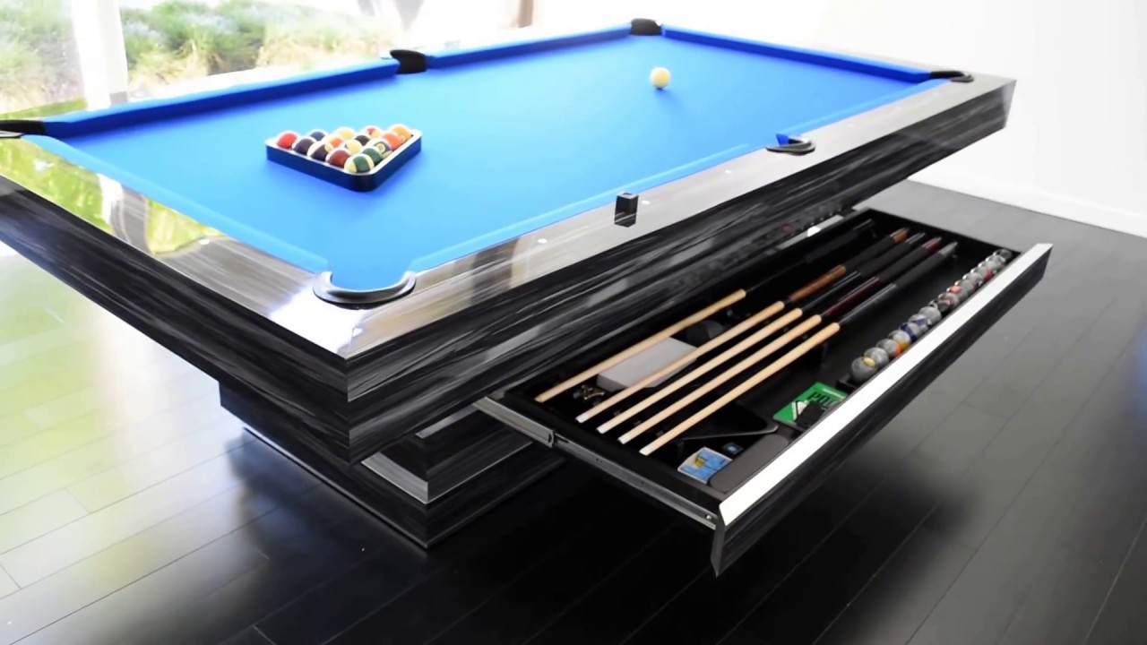 Hermosa Modern Pool Table Contemporary