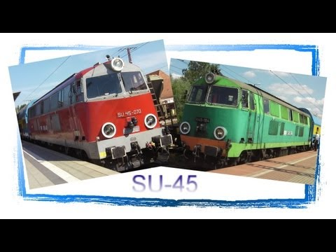 Thumbnail: The Last Polish SU45 Diesel Locomotives - and many Freight Trains at Rzepin!