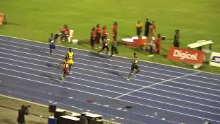 Digicel Grand Prix 2018 Boys U20 200m