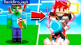 How to MORPH into GOKU in Minecraft!