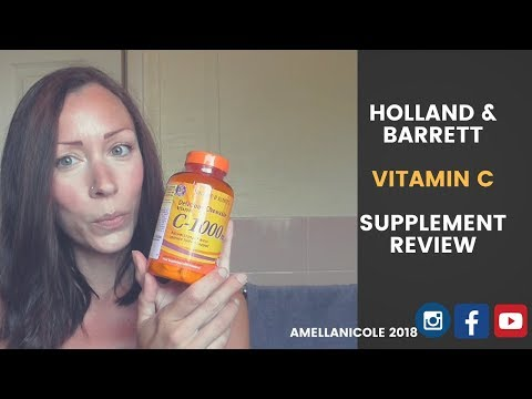 FEEL AMAZING WITH VITAMIN C SUPPLEMENTS FROM HOLLAND AND BARRETT - REVIEW