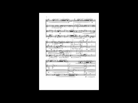 Expressionist String Quartet Mov I