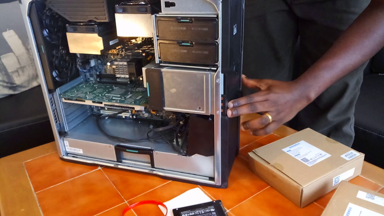 Installing SSD in HP Z600 by creating a new Bracket Bay edit