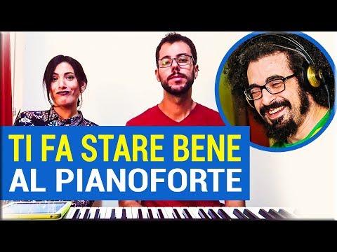 TI FA STARE BENE - CAPAREZZA (COVER AL PIANOFORTE + TESTO)