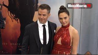 Gal Gadot, Chris Pine arrive at Wonder Woman Los Angeles premiere