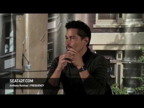 Anthony Ruivivar FREQUENCY Set Visit