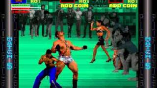 Pit Fighter - Finishing the game without cheats and with a single credit