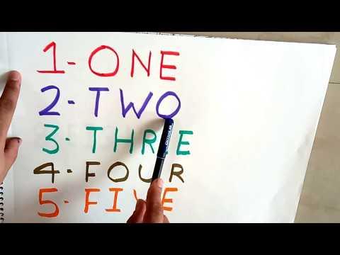 12345678910 learn spelling for children|Number Spelling 1-10|Number Spellings for kids|12345|song