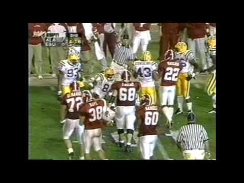 1996 #10 Alabama vs. #11 LSU Highlights