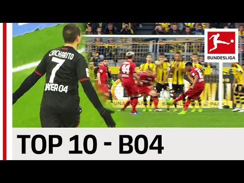 Top 10 Goals - Bayer 04 Leverkusen - 2016/17 Season