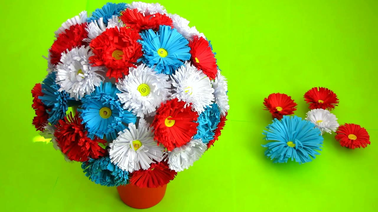 Best out of paper crafts how to make paper flower bouquet very best out of paper crafts how to make paper flower bouquet very easy to make diy flowers making izmirmasajfo
