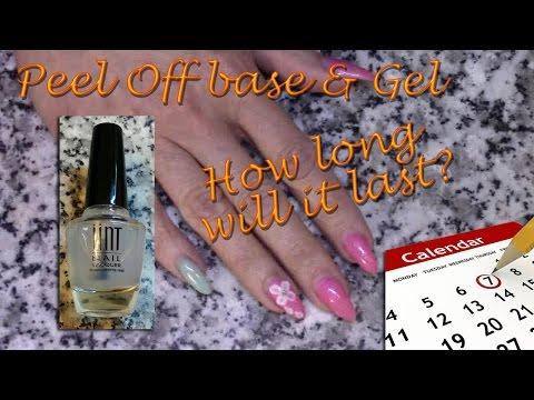 Peel-off base coat & gel polish - how long will it last?