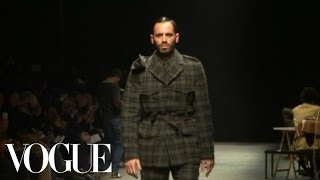 Fashion Show - Umit Benan Fall 2012 Menswear