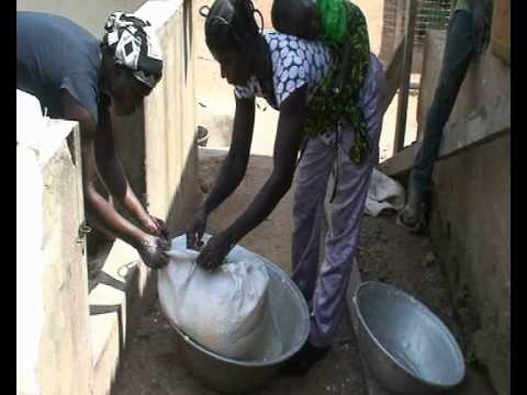 Production videos from Wadep: Gari (Cassava)  Production -  Nkwanta, Ghana