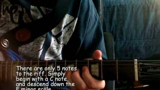Jay Z  Dirt Off Your Shoulder Guitar Tutorial Video