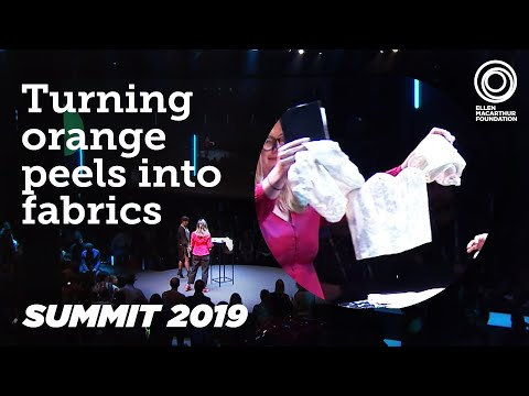 Turning Orange Peels Into Fabrics | Summit 2019