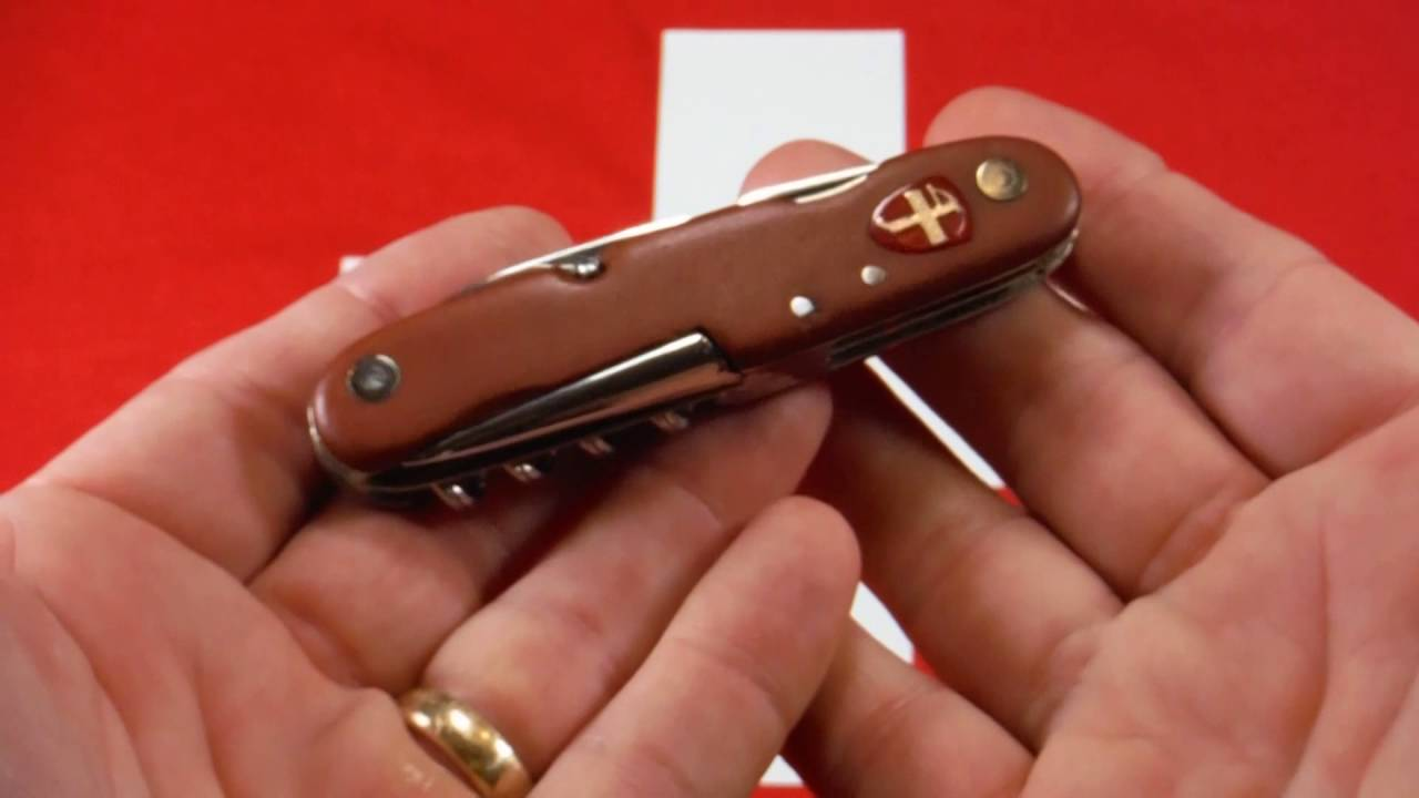 Very Old And Rare Swiss Army Knife