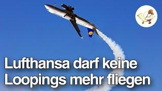 Lufthansa verbietet Piloten, Loopings zu fliegen [Postillon24]