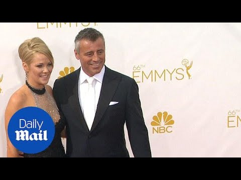 Matt LeBlanc and Andrea Anders at the Emmy Awards  Daily Mail