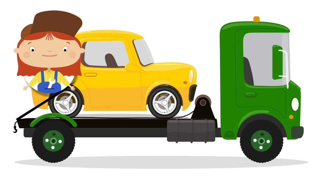 Doutora Mcwheelie E Um Carro Amarelo Desenhos Animados Para Crianças