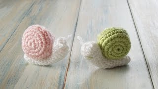 (crochet) How To Crochet a Snail - Yarn Scrap Friday