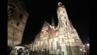 Košická katedrála vo svetle reflektorov - Cathedral in Kosice