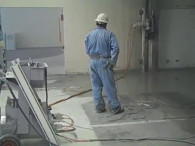 Remote Control Wall Saw