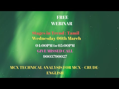 MCX CRUDE OIL TRADING TECHNICAL ANALYSIS MARCH 06 2019 ENGLISH CHENNAI TAMIL NADU INDIA
