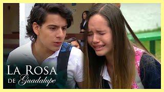 La Rosa de Guadalupe: Domingo humilla a Rita frente a todos sus amigos   Hablar de amor