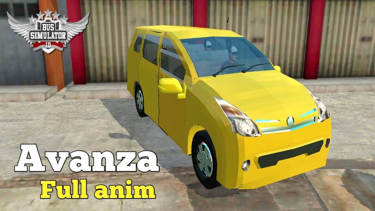 6300 Koleksi Mod Bussid Mobil Pribadi Full Anim HD Terbaru