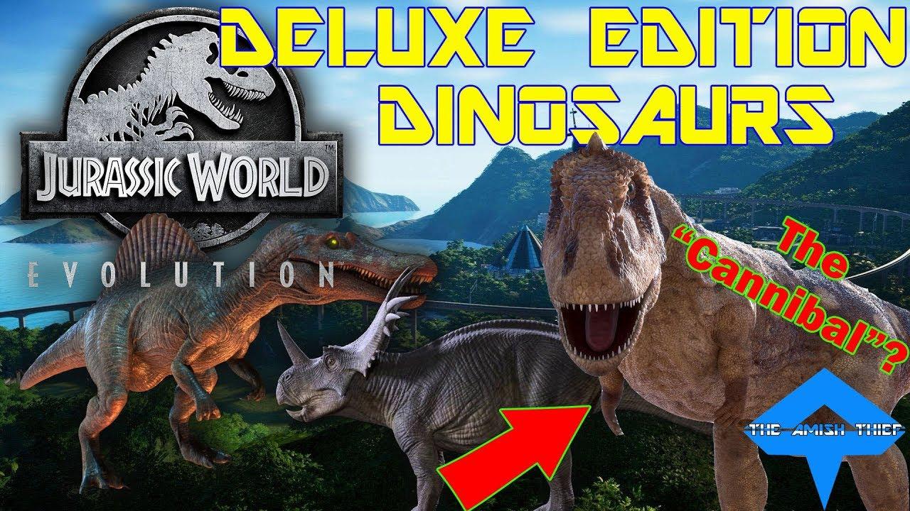 jurassic world deluxe edition pc