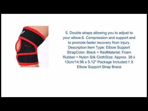 Elbow Support Prevent Healing Strap Sport Arthritis Gym Brace