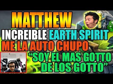 MATTHEW DEMOSTRANDO PORQUE ES EL MEJOR ROAMER DEL PERU | SORPRENDENTE EARTH SPIRIT | DOTA 2