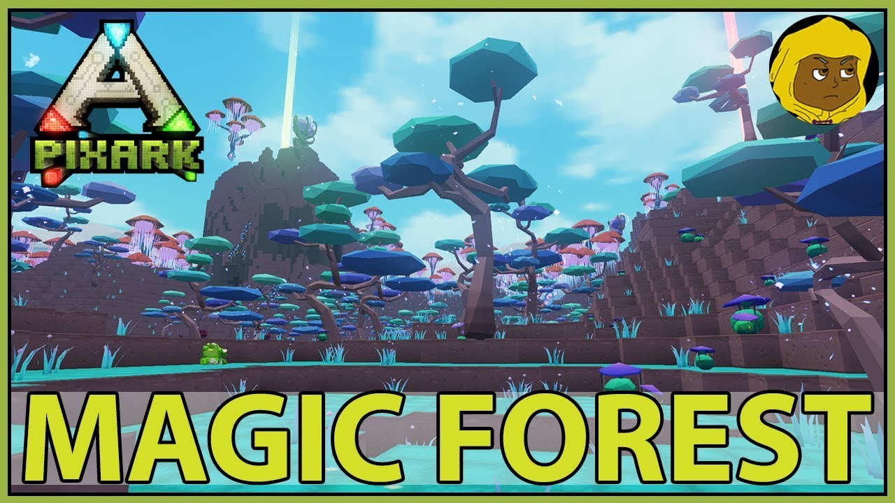 Image result for pixark magical forest
