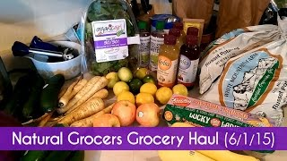 Natural Grocers (Vitamin Cottage) Grocery Haul - 6/1/15