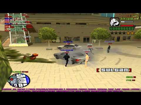 GTA San Andreas Multiplayer (03) Seguindo, Matando e Morrendo